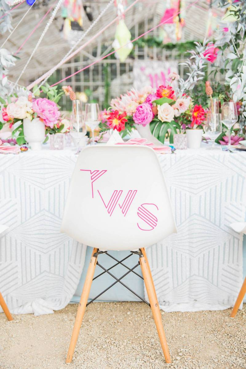The Jam Event Brings Innovative Wedding Design Back From The 80s