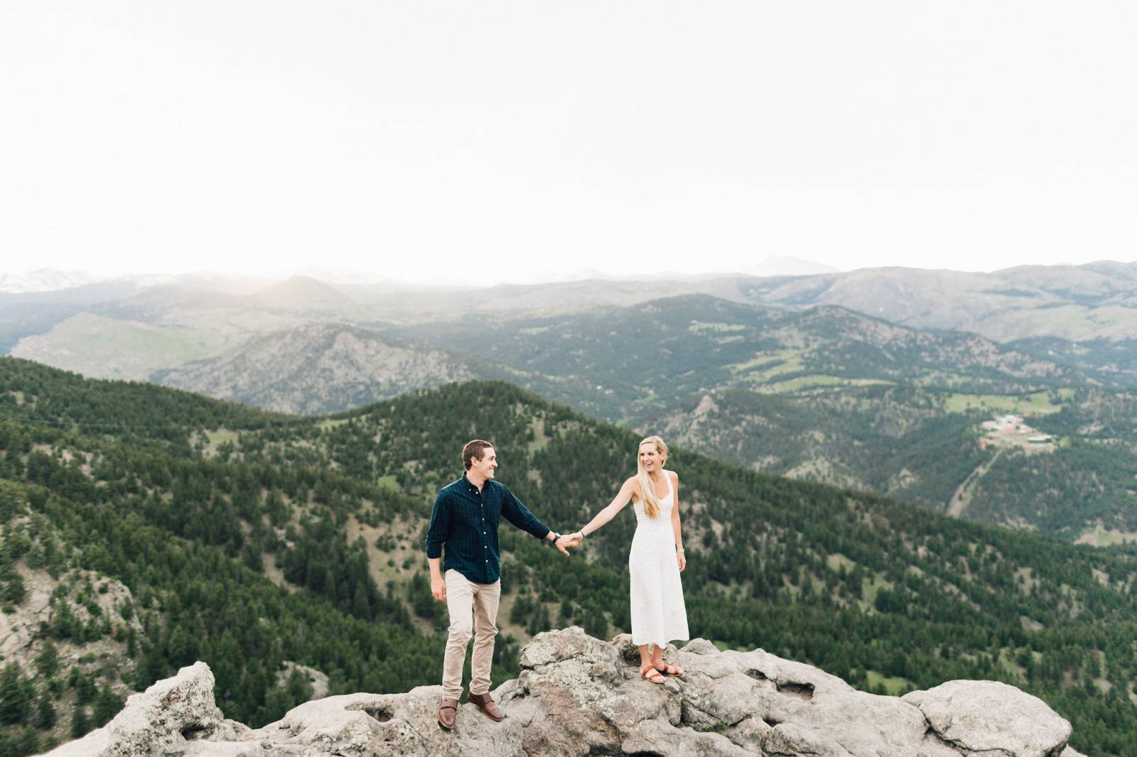 Awesome Summer Chautauqua Trails Engagement Boulder Colorado Complete Home Design Collection Barbaintelli Responsecom
