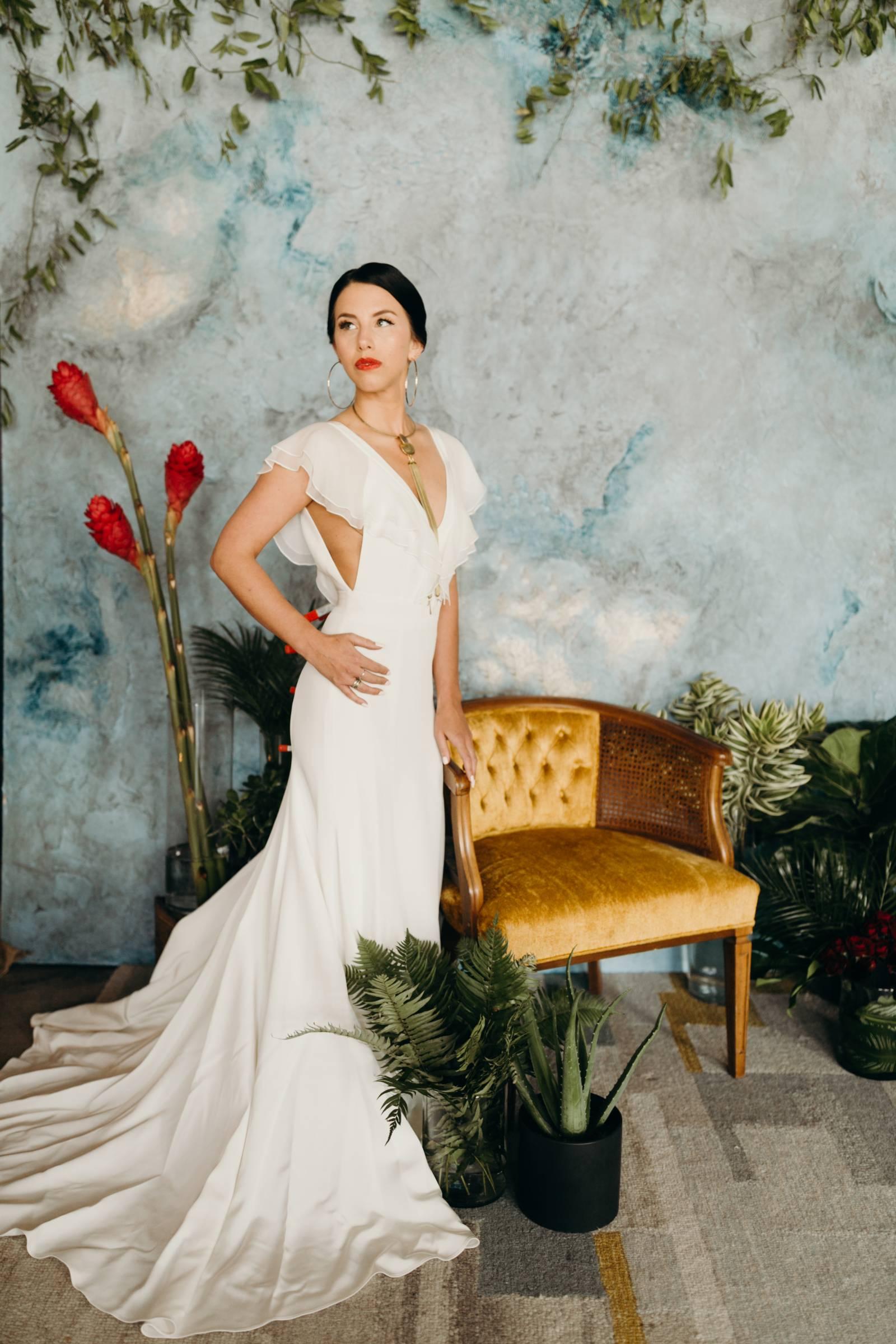 Cuban Inspired Wedding Dress Collection by Gretchen Dawley ...
