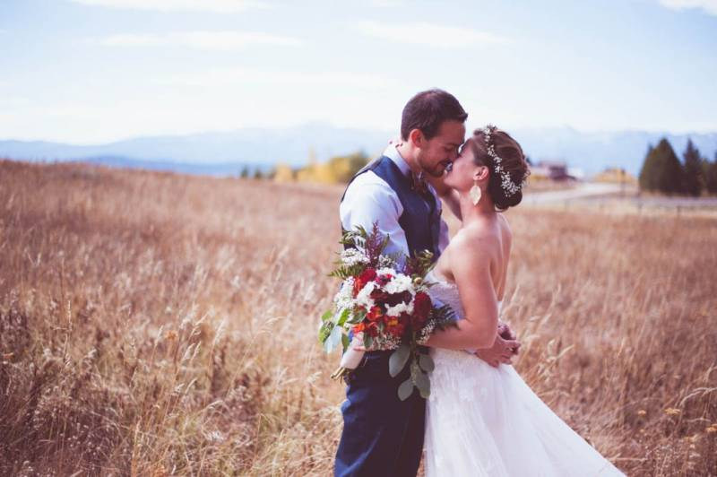 Hillary Brad West Yellowstone Wedding