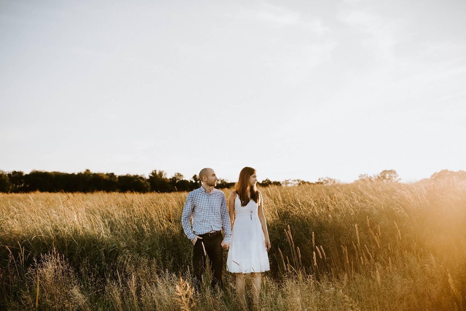 Lauren Nick Mcconnells Mills Engagement Session