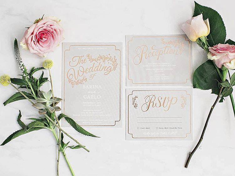 how to choose a wedding invitation that will amaze your guests