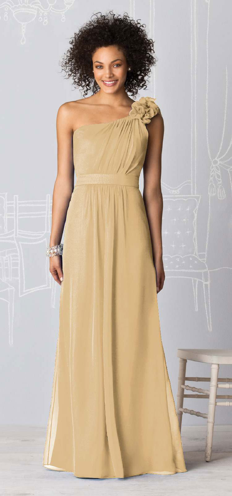 Fashion Friday Champagne Bridesmaid Dresses And Styling