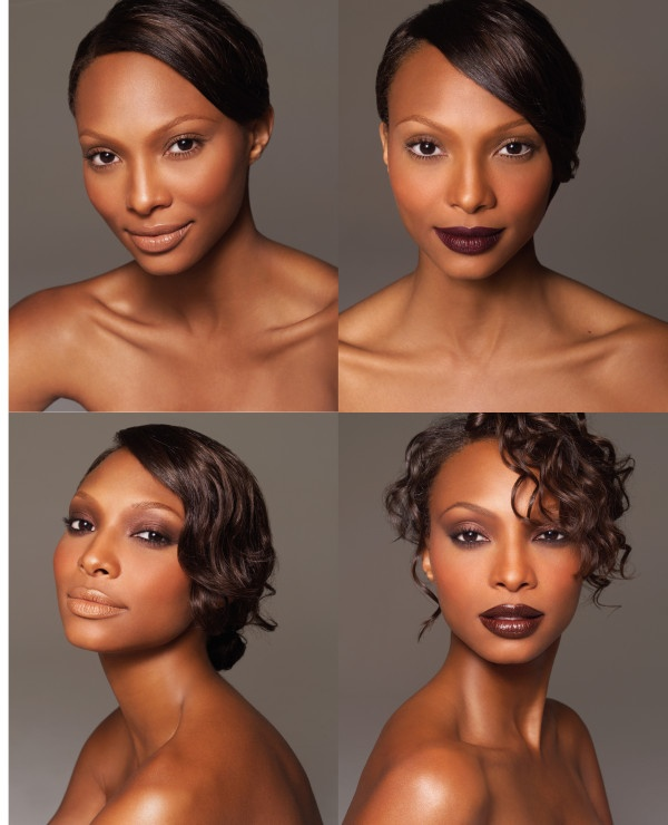 contour makeup kit for dark skin. makeup for dark skin via pinterest by sam fine. contouring contour kit f