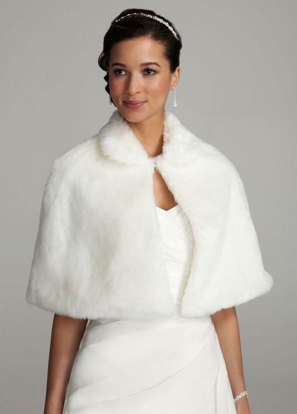 Winter Wedding Dress Accessories