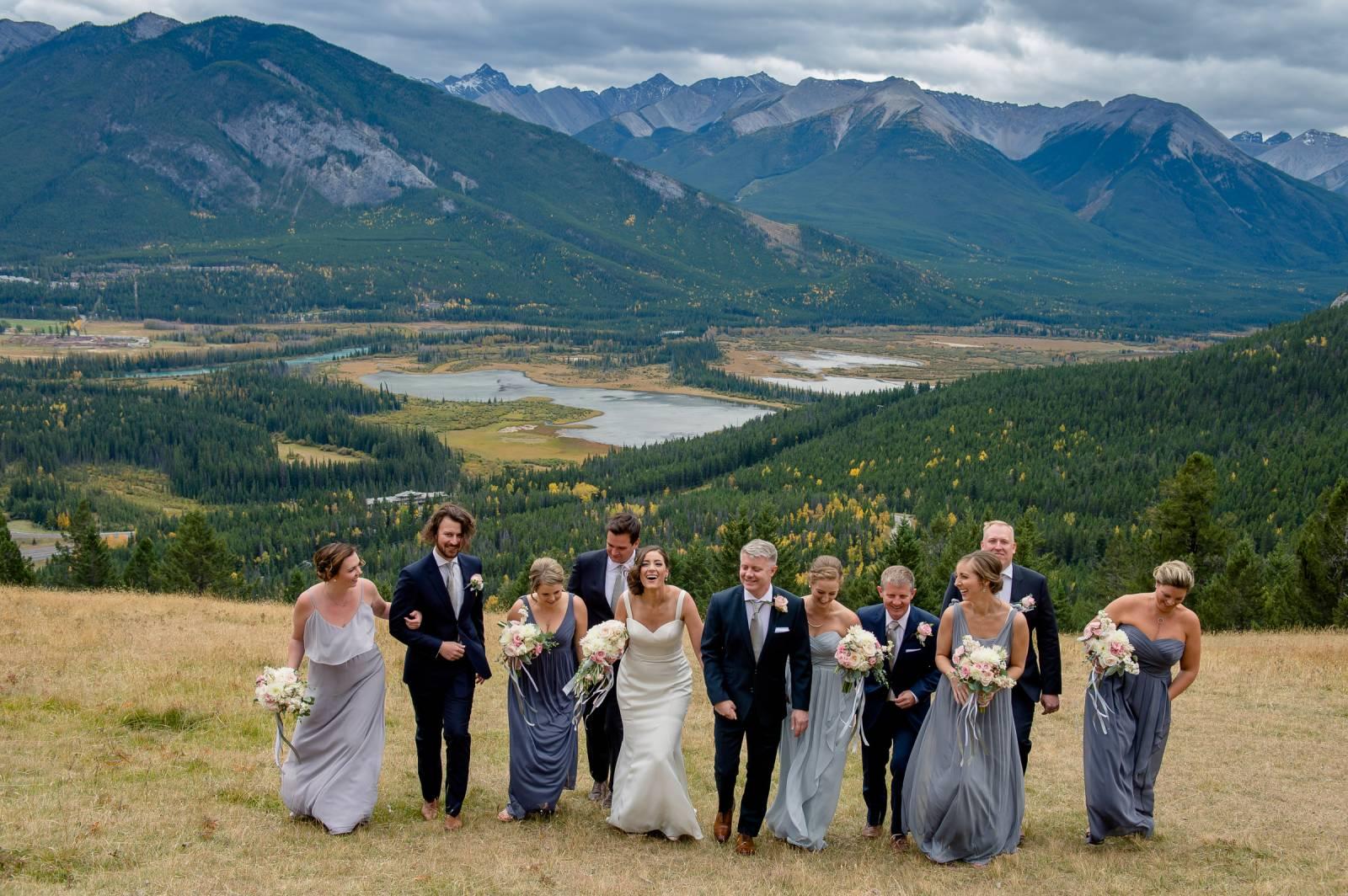 Mount Norquay Wedding