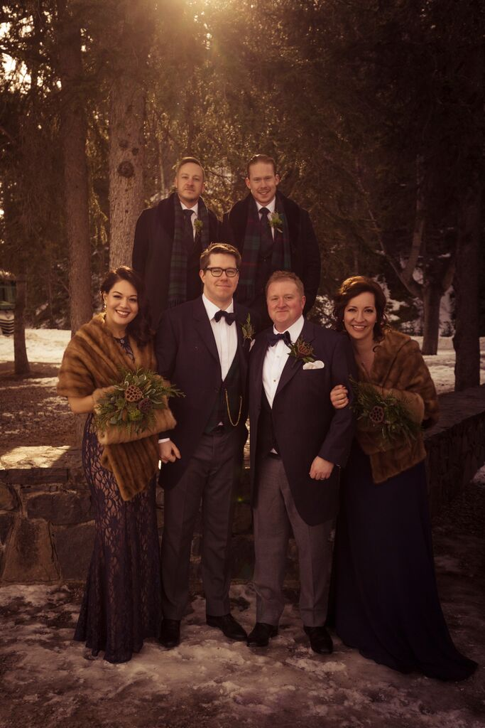 WInter  Wedding, Banff Wedding