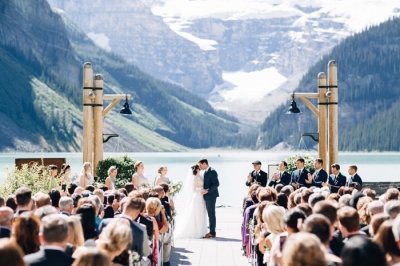 Fairmont Lake Louise Woodland Wedding Planner Item 11