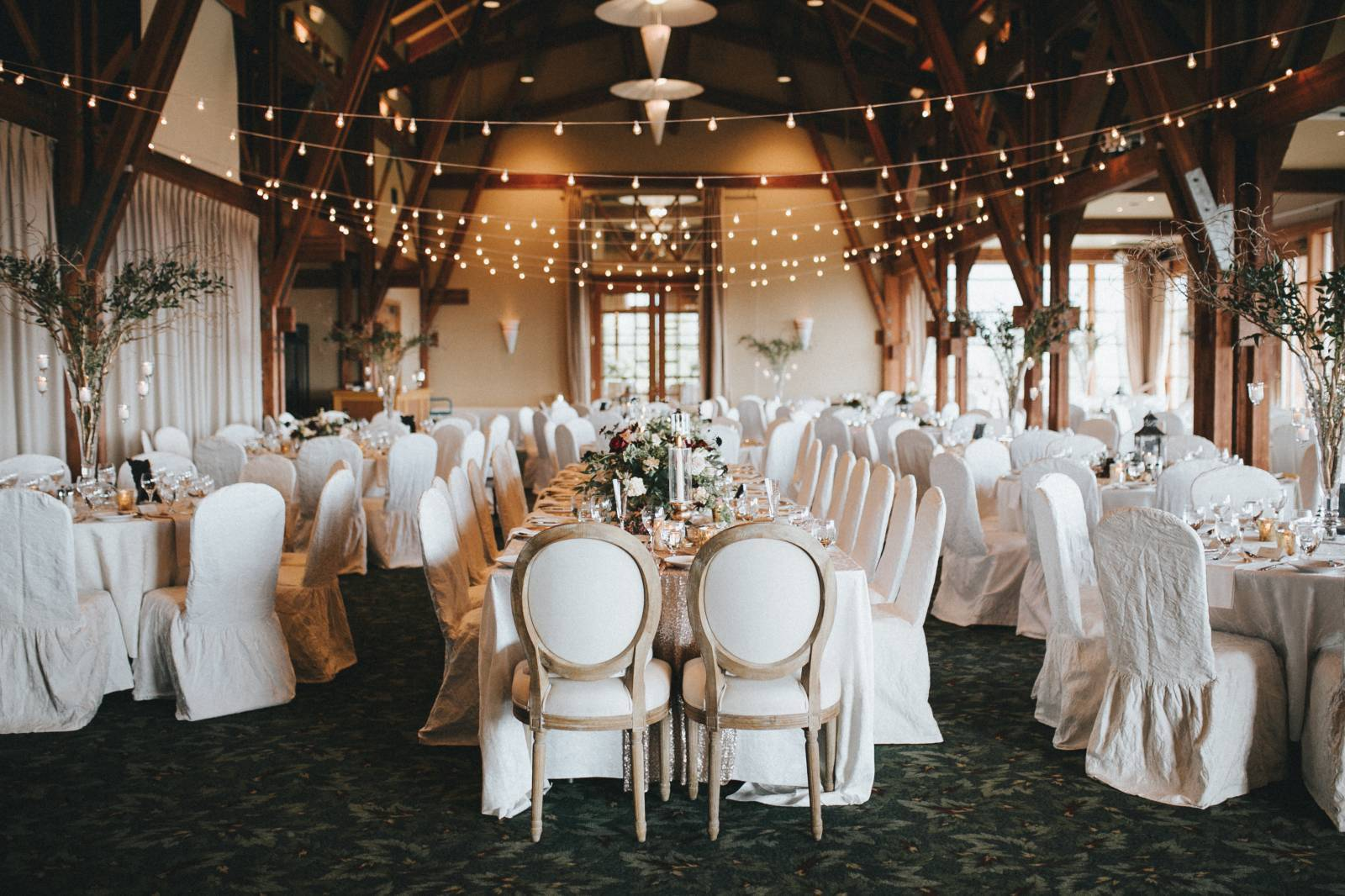 wedding reception, westwood plateau golf