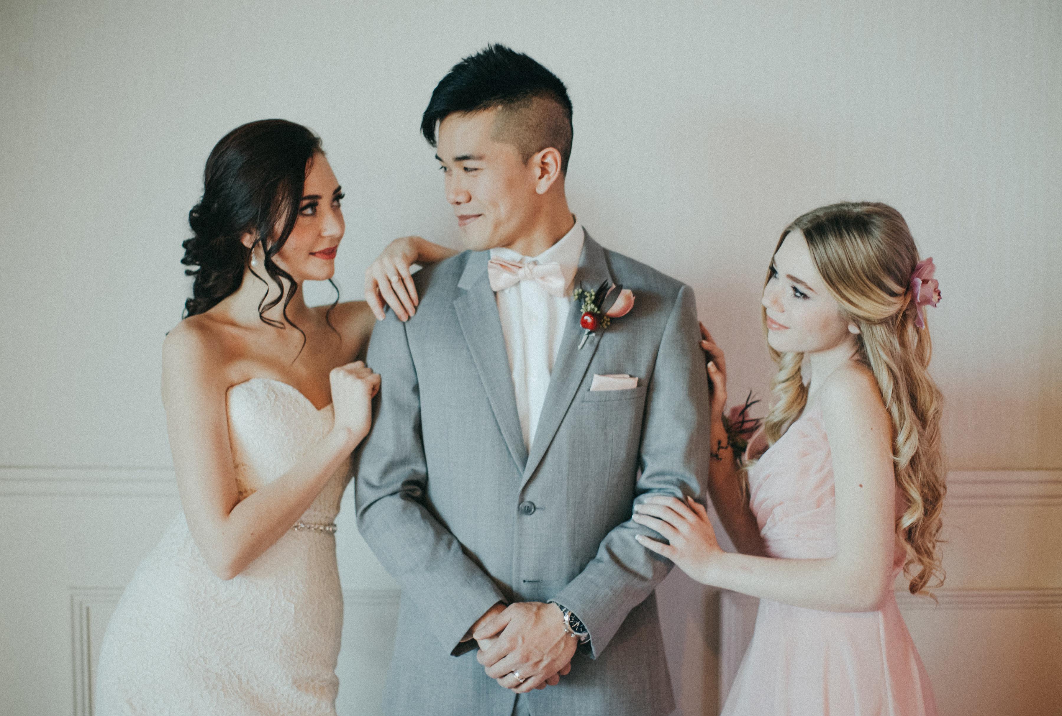 Romantic Spring Wedding Inspiration   Calgary Features