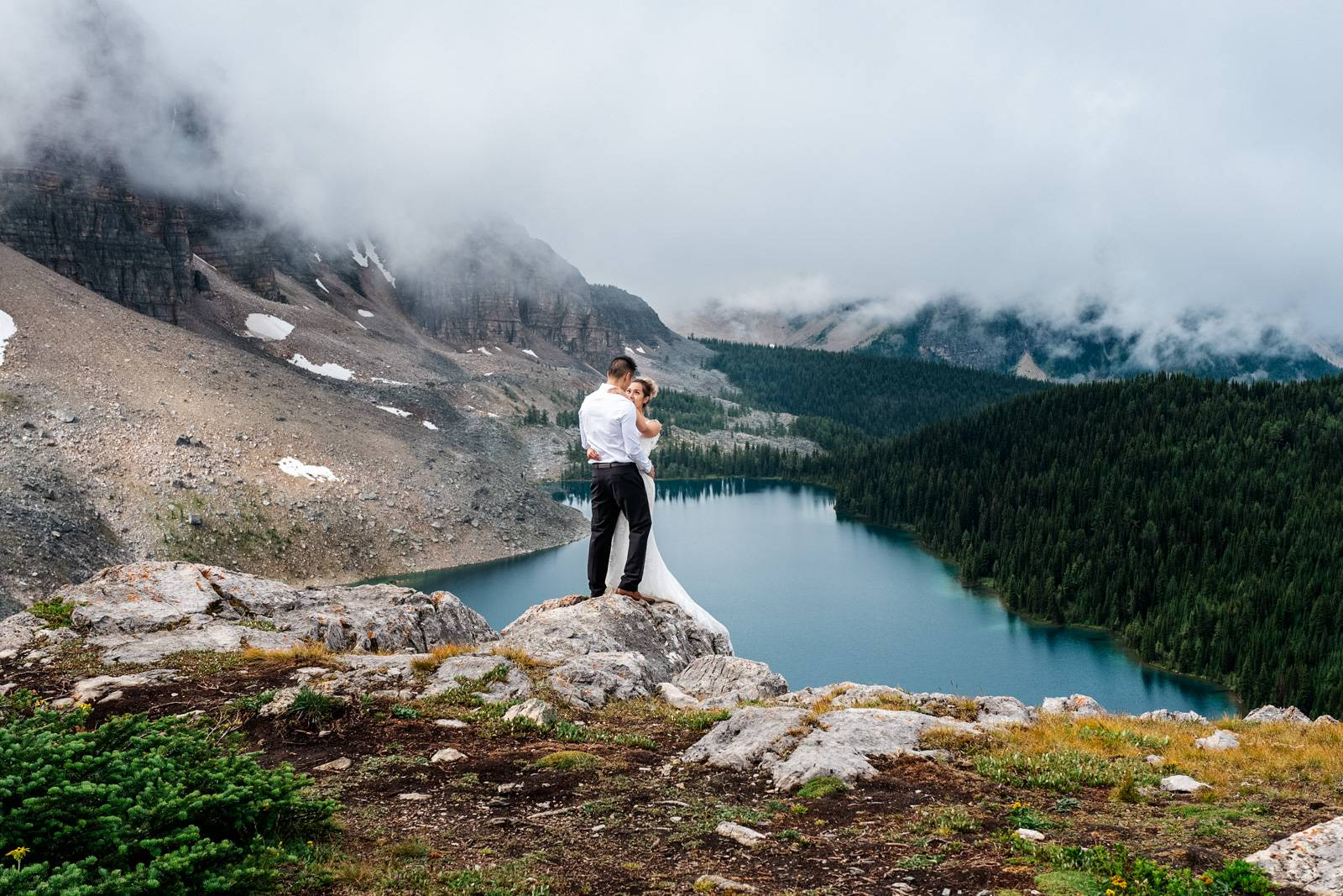 Mount Assiniboine wedding