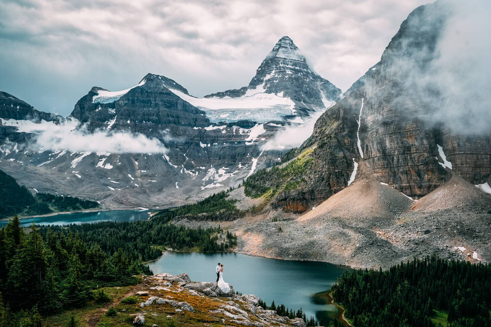 Elopement at the Mount Assiniboine.