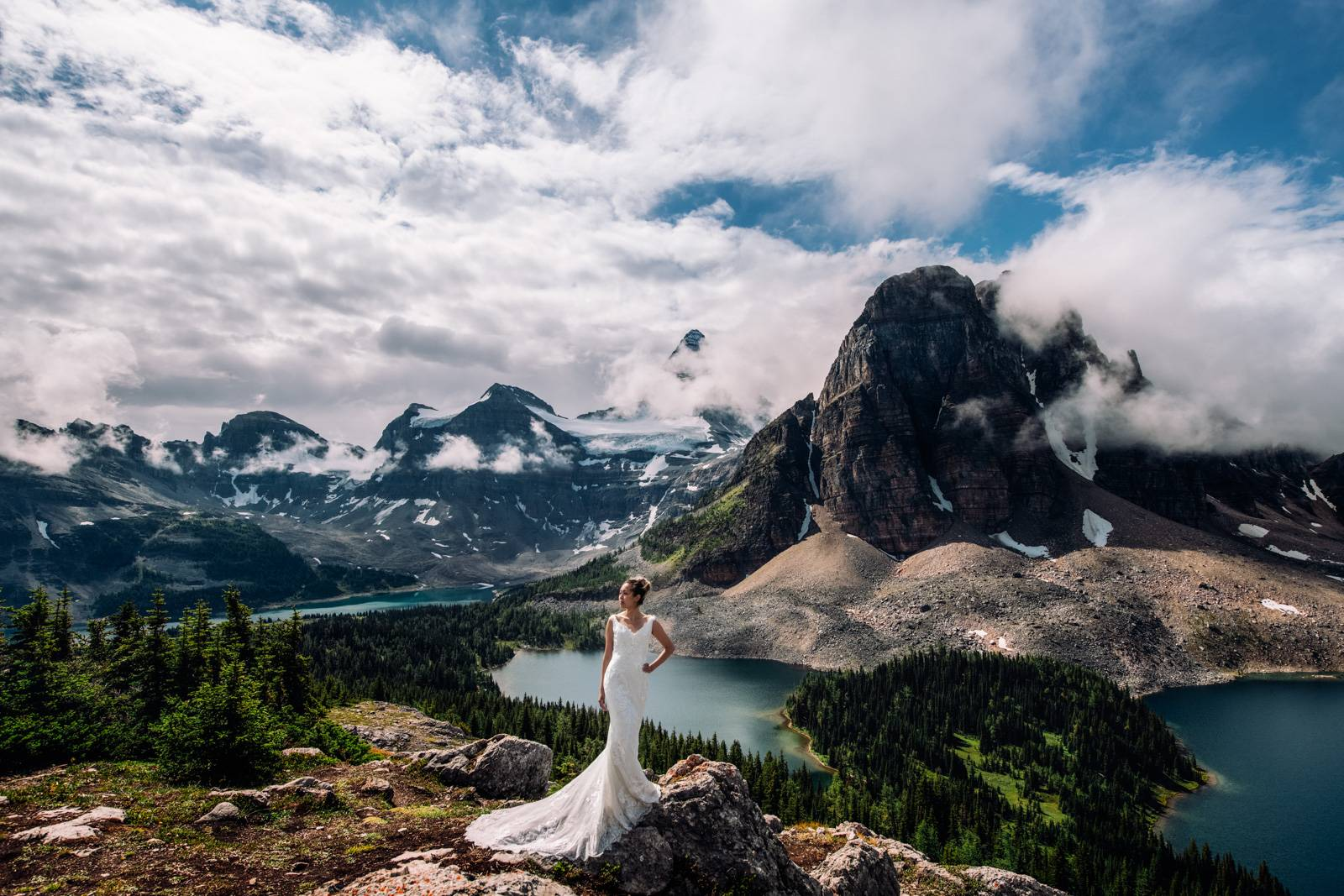 Rocky Mountain bride.
