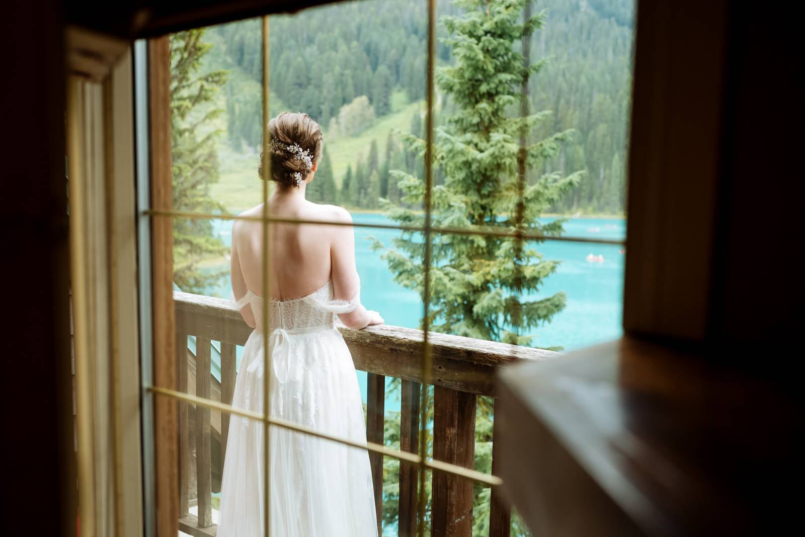 Emerald Lake Bride