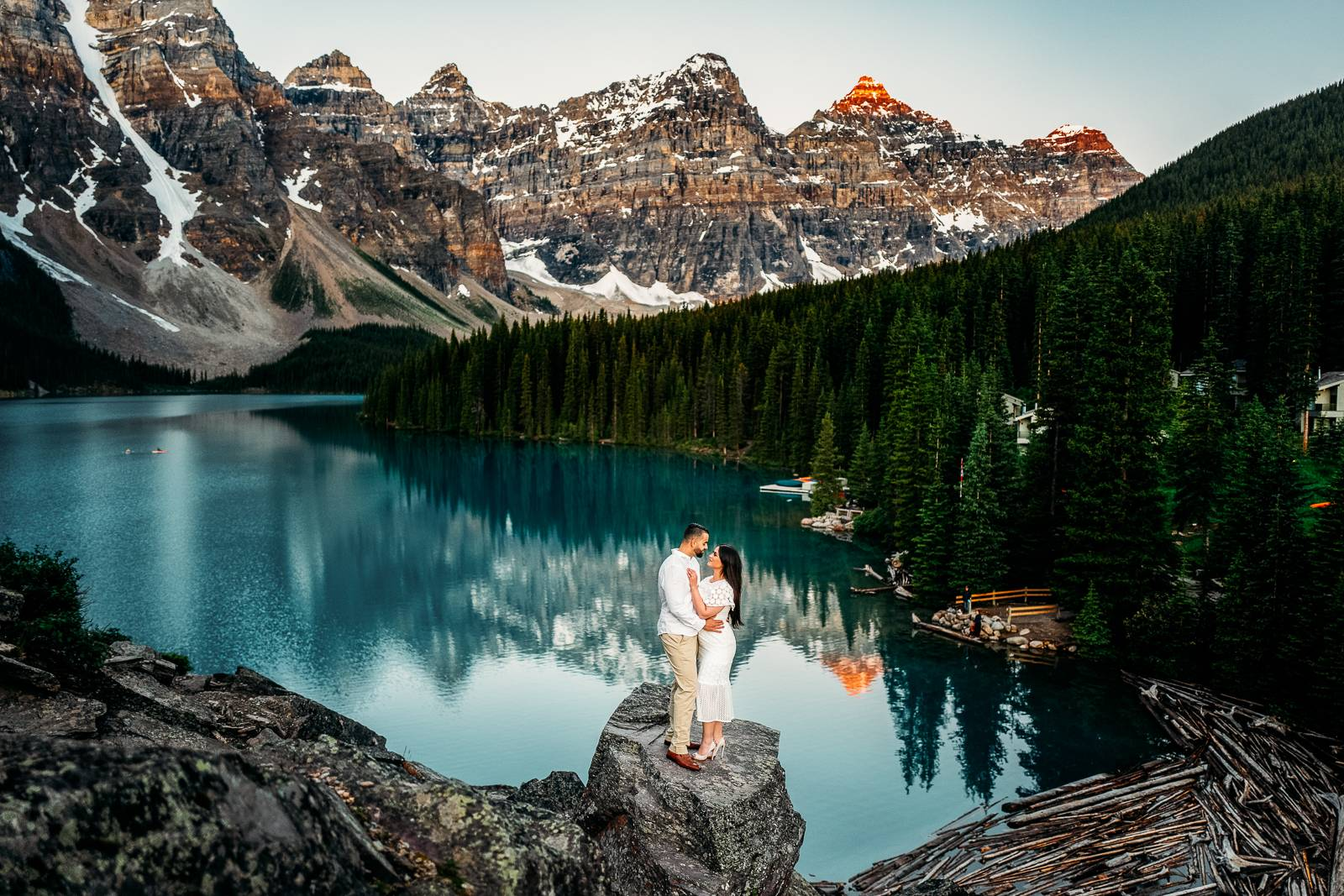 Moraine Lake engagement