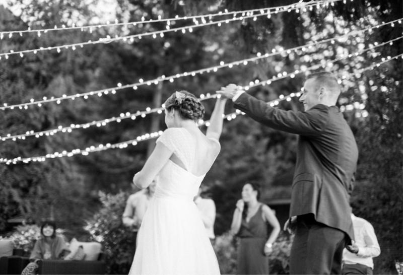 Simple, Organic Lakeside BC Wedding