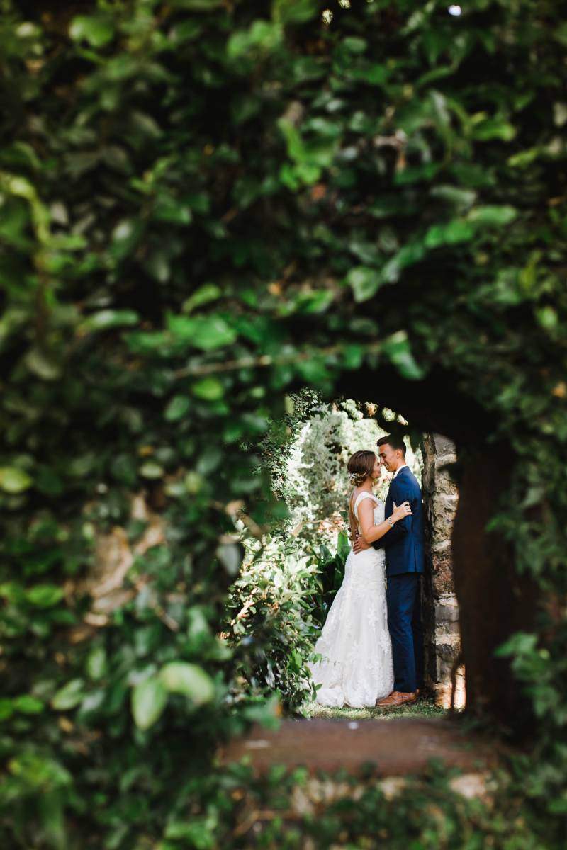 Rustic Maui Country Wedding