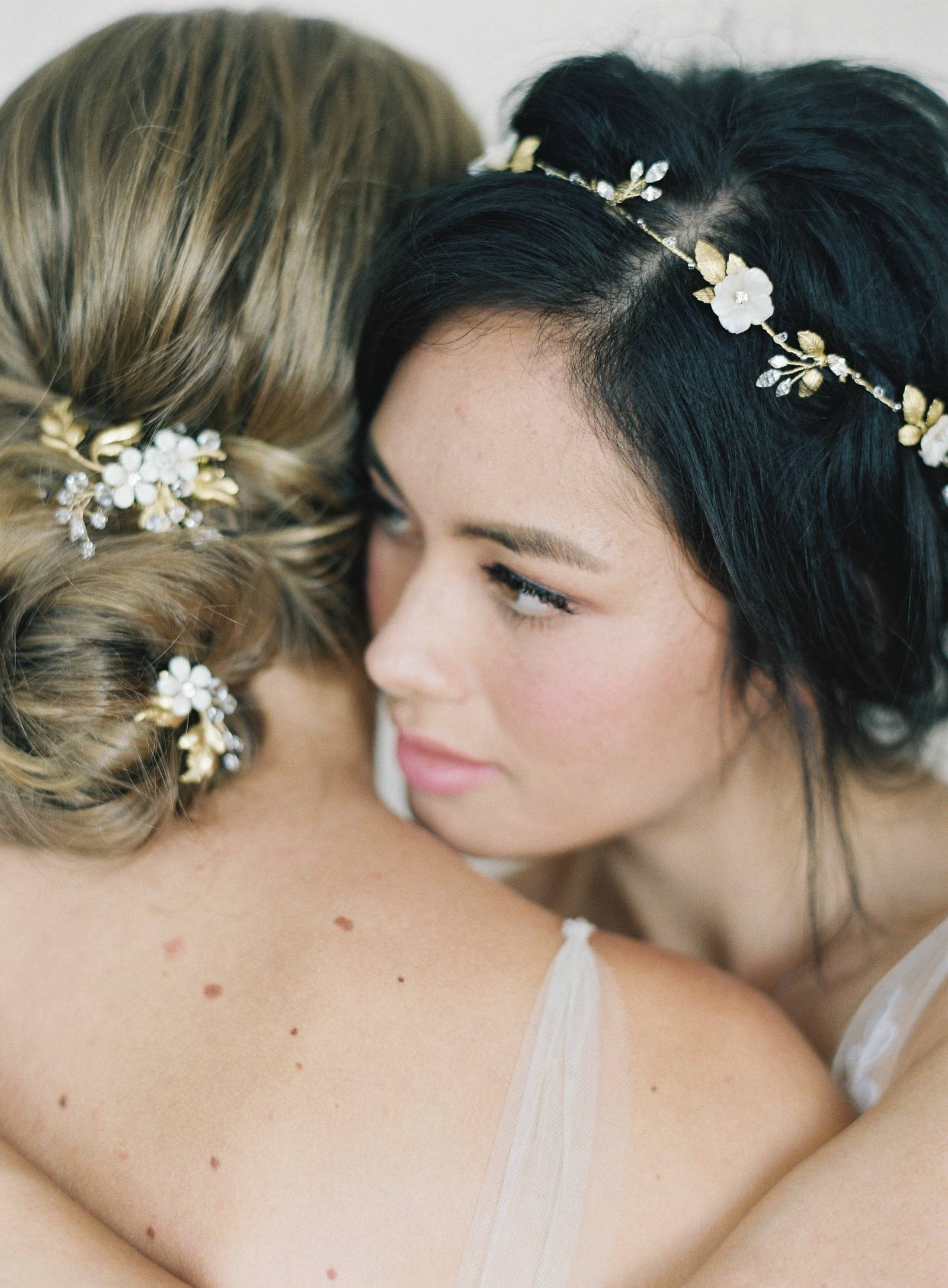 Bride hair pieces