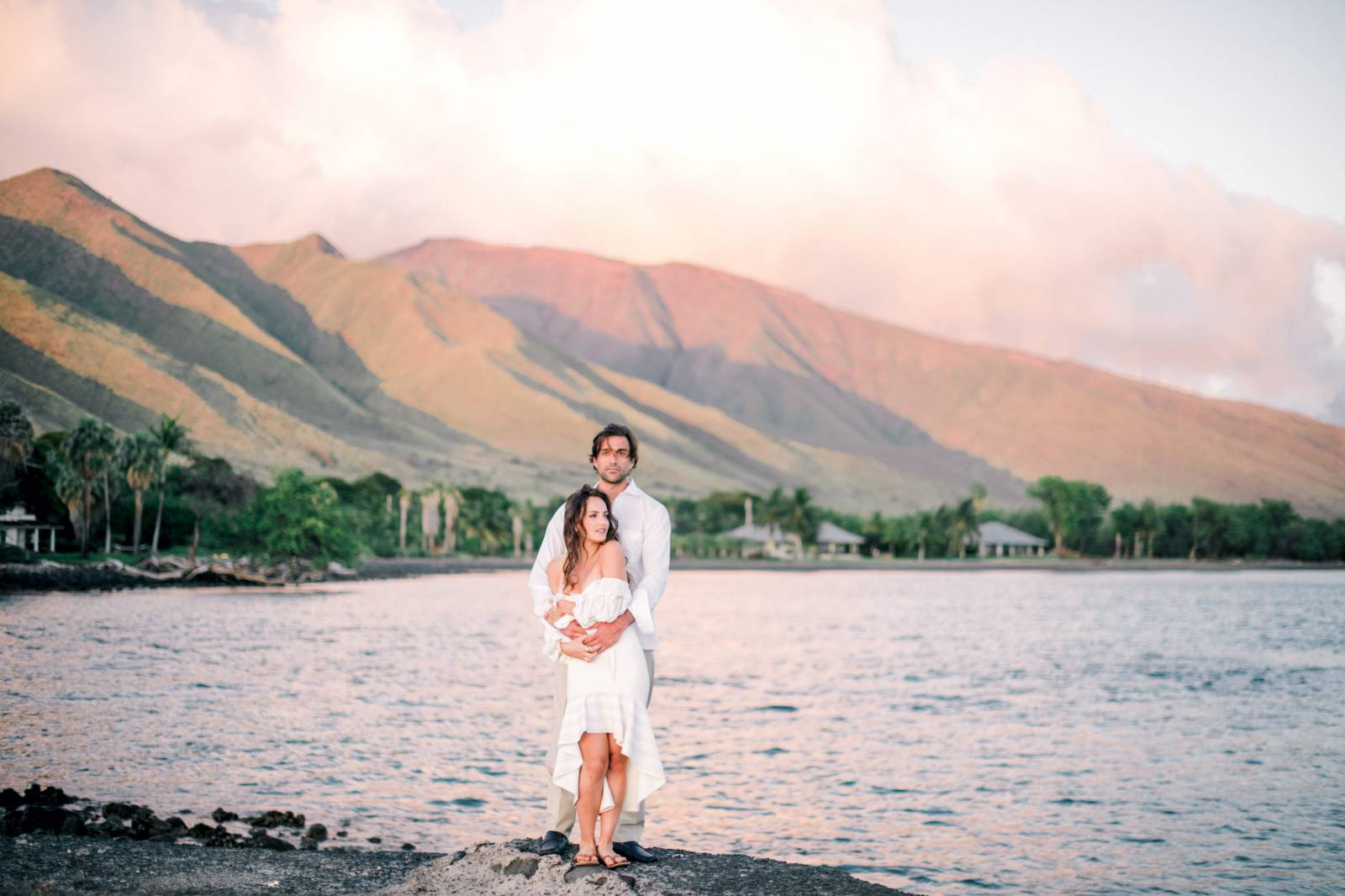 Maui honeymoon portraits