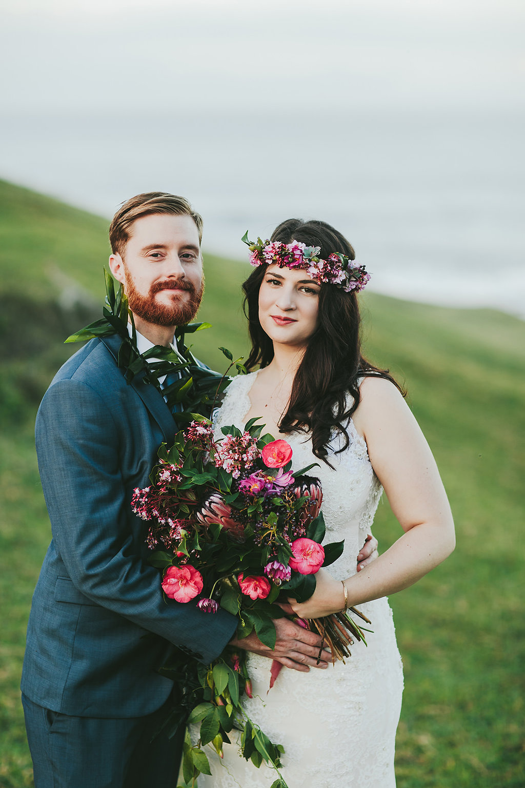 Romantic Cliffside Elopement