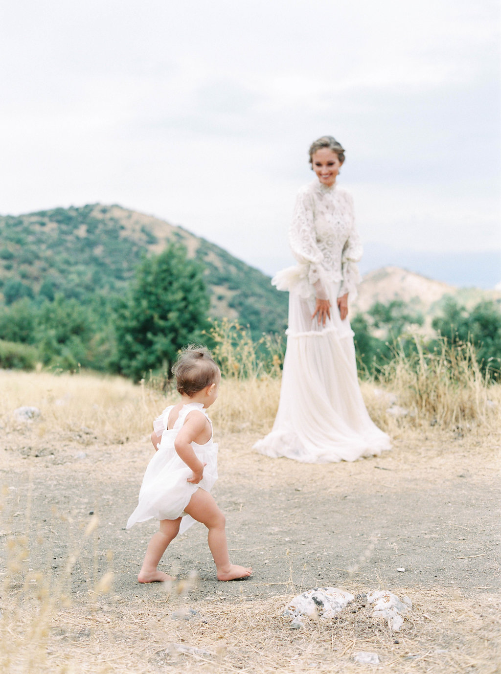 mother and child wedding inspiration