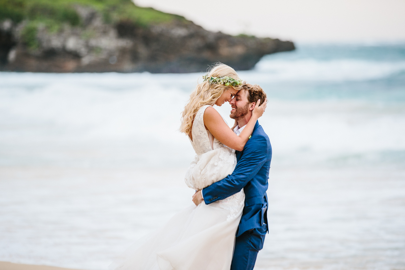 Elegant Backyard Beach Wedding