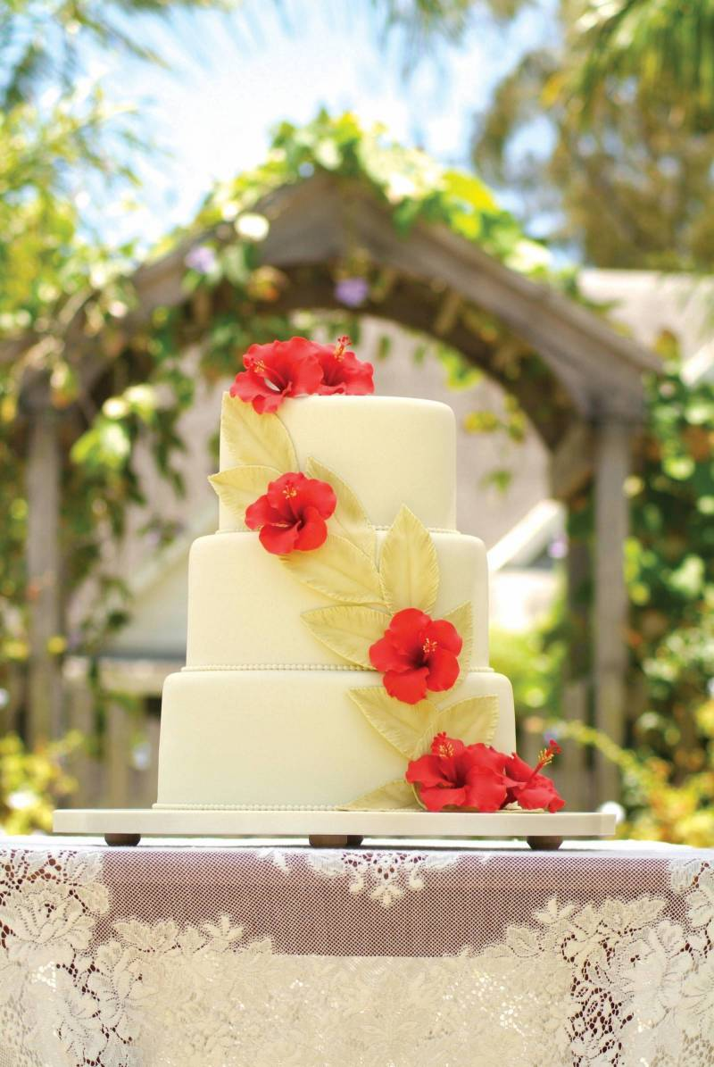 Hawaii Wedding Cakes Oahu Wedding Inspiration