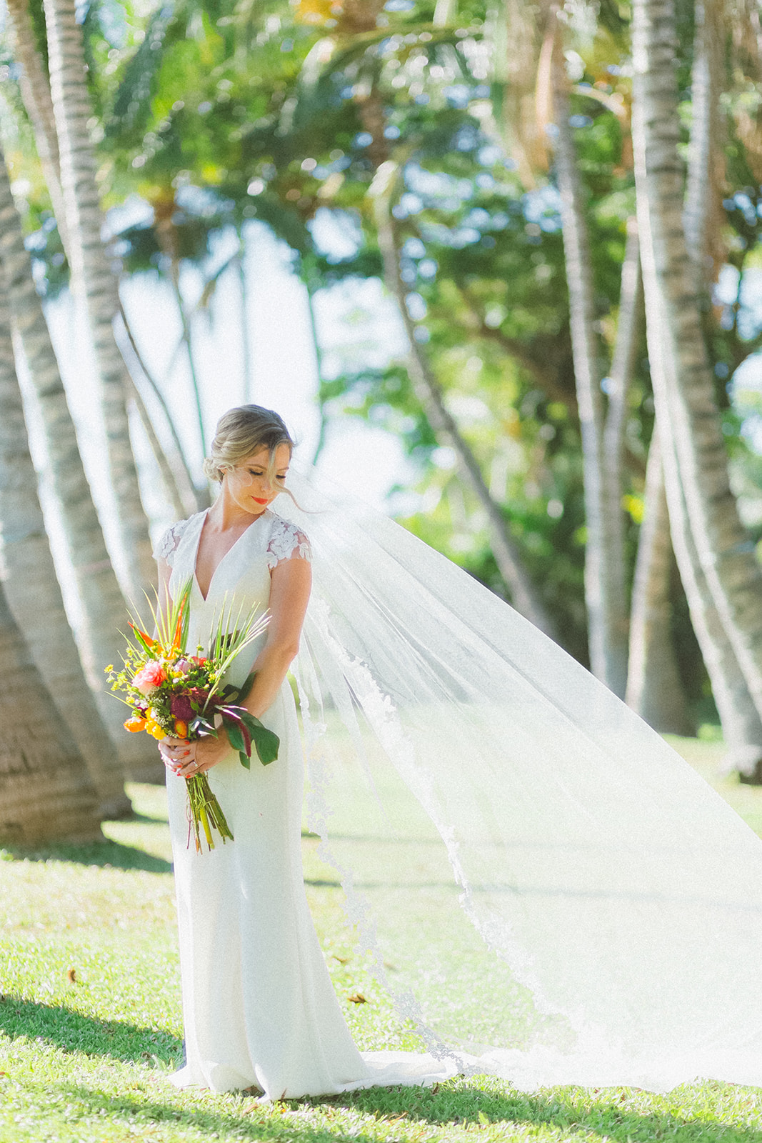 Fun + Festive Tropical Destination Wedding