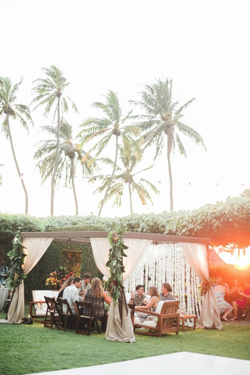An elegant hawaii wedding at la pietra oahu real wedding junglespirit Images