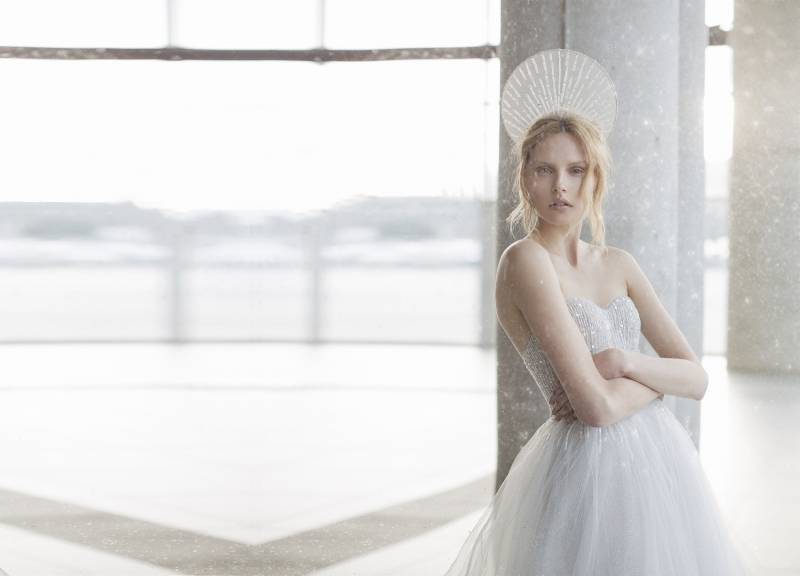 Stardust: Mira Zwillinger\'s Ethereal 2016 Wedding Gown Collection ...