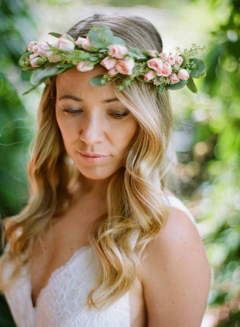 Petit rose flower crown vancouver the rose always has its moment come valentines day and we couldnt think of a more utterly romantic display than a petit rose flower crown izmirmasajfo