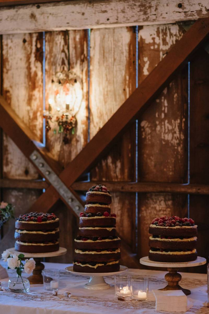 naked cake, wedding cake, berry cake, homemade cake, rustic cake