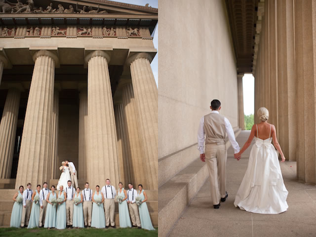 nashville wedding parthenon bridal shoot