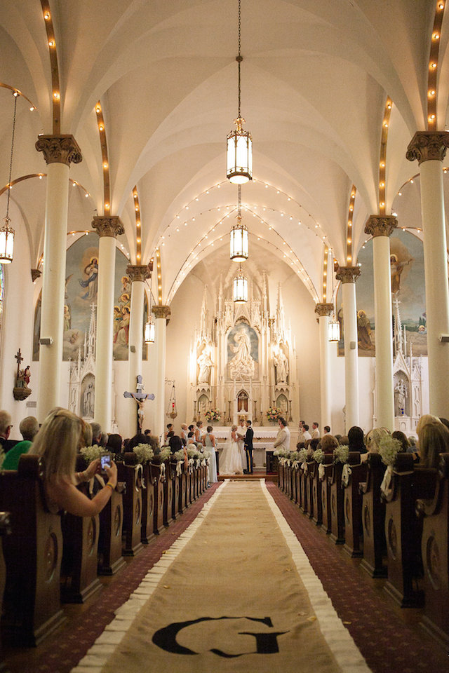 nashville wedding church of the assumption