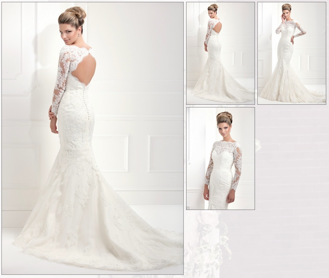 On Trend: Wedding Gowns With Straps And Sleeves At Geny\'s Bridal ...