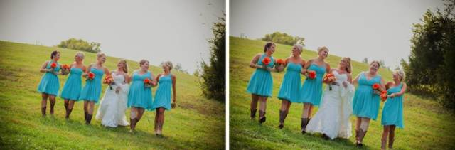 Cowgirl Boots For Wedding Dress 70 Vintage outdoor wedding reception nashville