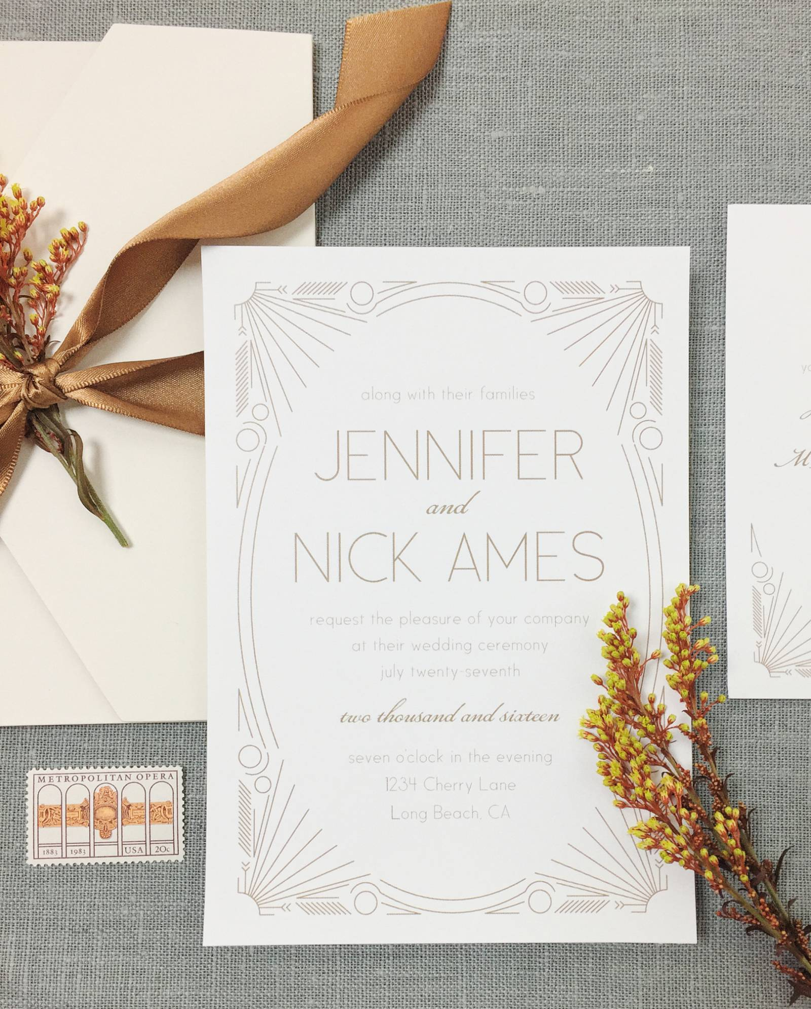 Basic Invite: Customizable Online Wedding Invitation Suites & Paper ...