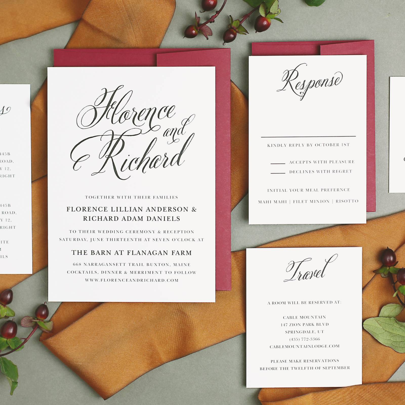 Basic Invite: Customizable Online Wedding Invitation Suites ...