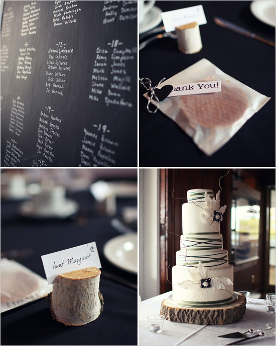black, white and blush pink wedding inspiration