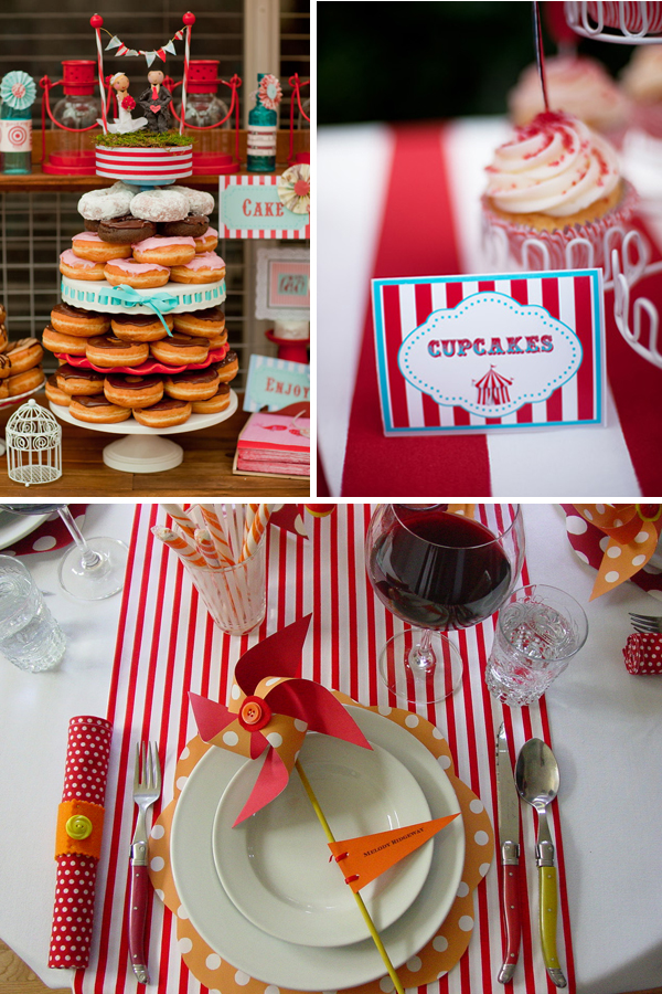 Wedding Circus Inspiration with Tahoe Unveiled