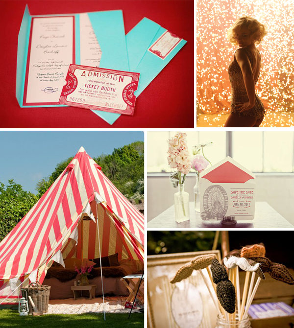 Circus Wedding Inspiration with Tahoe Unveiled