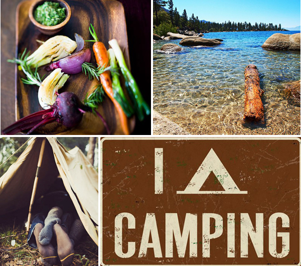 Wedding Camping Inspiration with Tahoe Unveiled