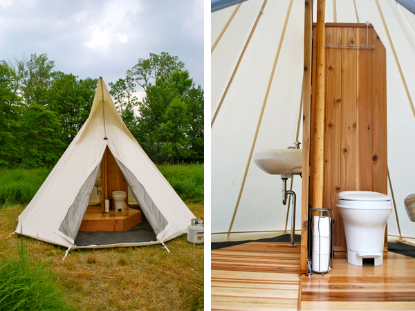 Lake Tahoe Glamping and Tents with Under Canvas Events