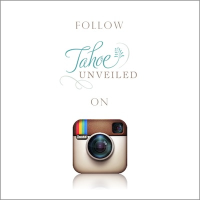 Tahoe Unveiled Instagram