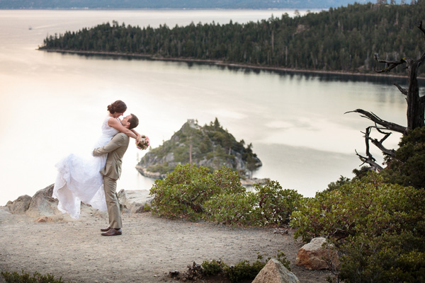 Unique Wedding Ceremony Location Emerald Bay