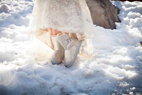 Ritz Carlton Lake Tahoe Winter Wedding