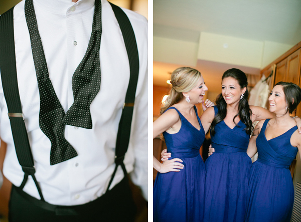 groom blue bridesmaids