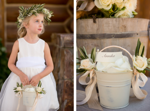 Lake Tahoe flower girl