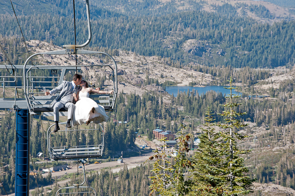 Destination Wedding At Sugar Bowl Ski Resort Lake Tahoe