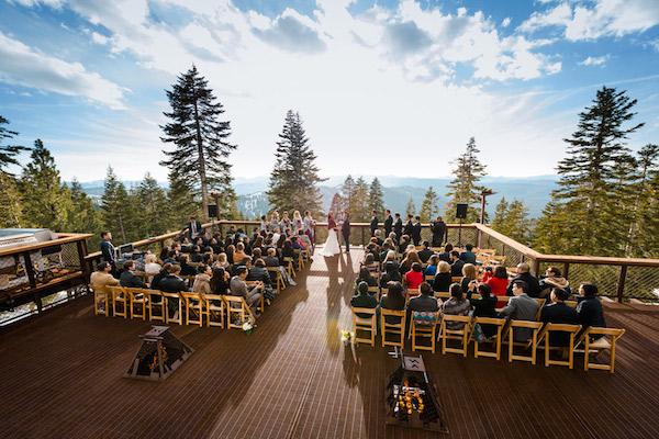 Winter Weddings At Tahoe Mountain Club | Lake Tahoe